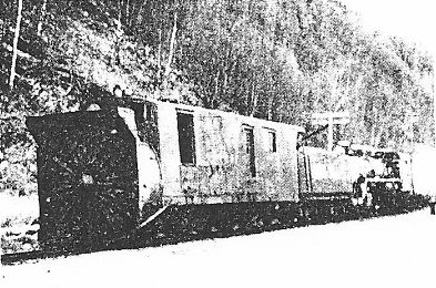 White Pass straddle carrier, 1969